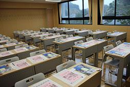 建長寺を望む新教室